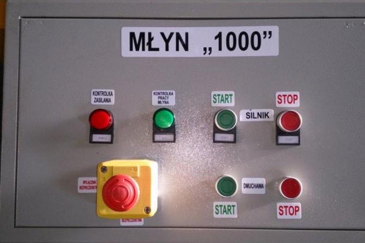Młyn DR1000 - szafka elektryczna